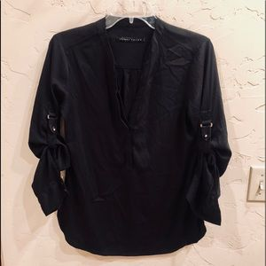 Beautiful Black Blouse by Ivanka Trump Size Med.
